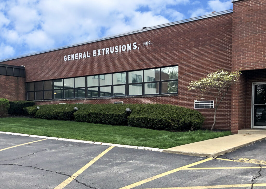 exterior building shot General Extrusions