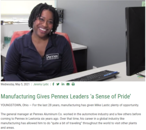Business Journal Showcases Pennex in Brain Gain Navigators Segment